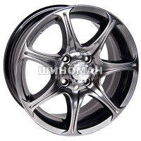 Racing Wheels H-134 7x16 5x112 ET46 DIA57,1 (BK-F/P)